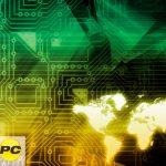digital concept art of mobile enterprise productivity
