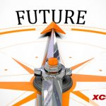 """compass pointing to the """"future"""""""